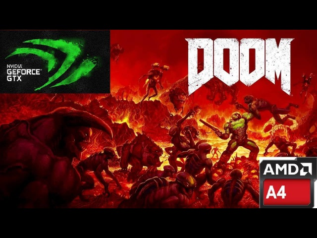 Doom 4/A4-3400 2.7 Ghz/GeForce GTX 750 2GB Palit StormX