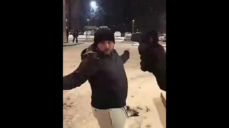 Ты кого толкнул?