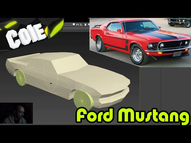 3dsMax low poly car modeling | 3D Tutorial | (Extrude | cut | detach | symmetry ) ENG