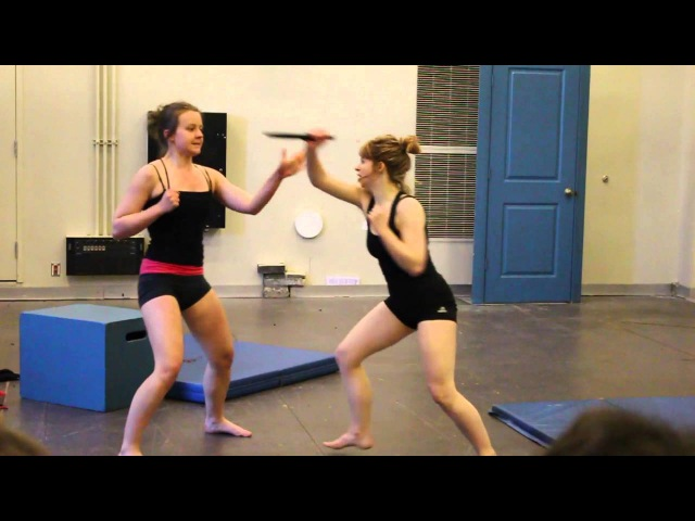 Stage Combat GB 2016 Lila and Virg