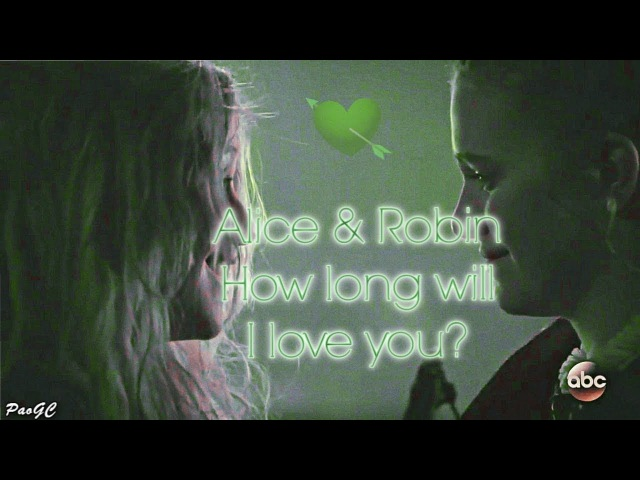 Alice Robin - How long will I love you? [7x10]