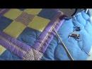 Стежка детского одеяла. Бордюр, рисунок -перья (Fathers) ч.1