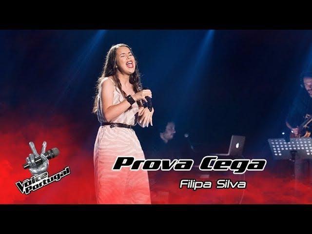 Filipa Silva - It's a Man's World | Prova Cega | The Voice Portugal