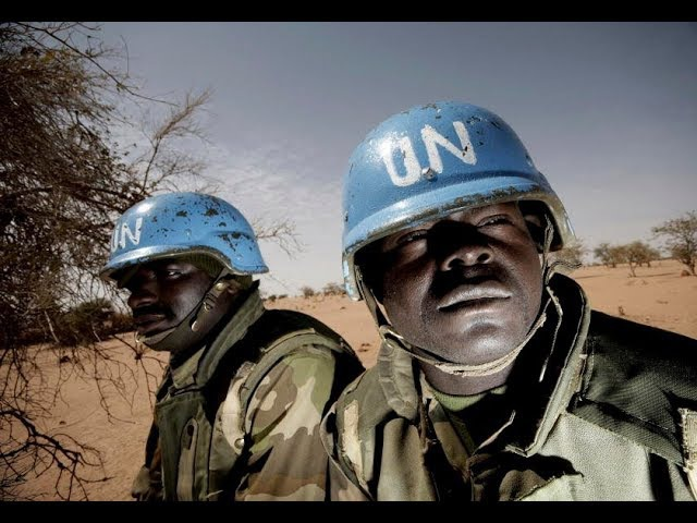 UN Troops in Chicago,The Africanization of American Cities