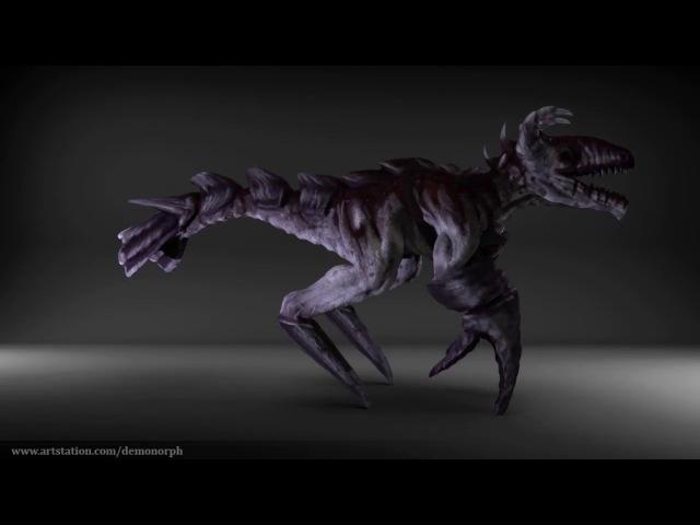 Scrof 360 (Feuerbach creatures)