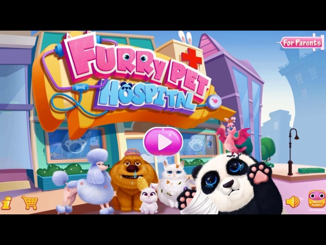 Furry Pet Hospital - Fun Animation Game Treat Cute Animals - Pet Doctor Kids Game for Children