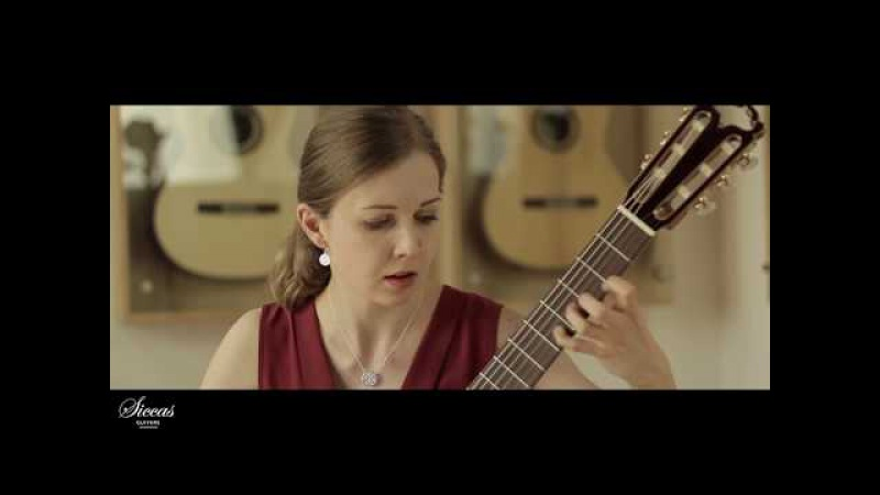 Ivana Solcaniova plays Sonata Mvt. III by Manuel M. Ponce on Armin Hanika Doubletop N