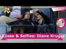 Küsse Selfies Diane Kruger TWD-Norman total verliebt!