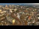 Житомир зимний с высоты птичьего полёта 2017 Zhitomir from the height of the bird's flight