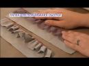 Лапка для присбаривания и пришивания оборки на оверлоке