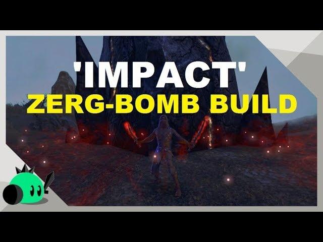 'IMPACT' ZERG-BOMB BUILD | Wipe Zergs in ONE SECOND
