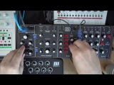 Behringer Model D first jam with x0xb0x &amp Tanzb
