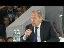 С.Лавров на форуме Россия - страна возможностей