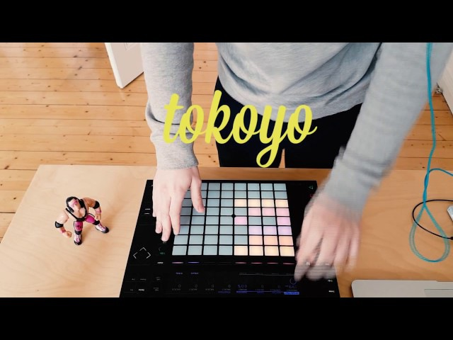 Tokoyo - chilled summer beat with ableton push 2