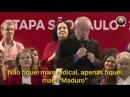DEMÊNCIA Lula diz que vai censurar a imprensa e que ficou mais MADURO