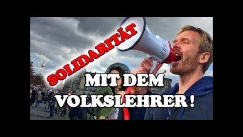 Wer weiß schon was den Deutschen angetan wurde ▶ Aus Solidarität mit dem Volkslehrer ()
