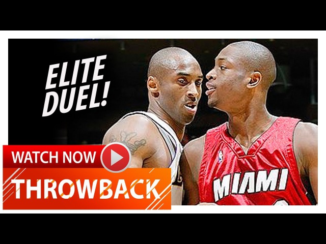 Dwyane Wade vs Kobe Bryant EPIC Duel Highlights (2004.12.25) Heat vs Lakers - MUST Watch!
