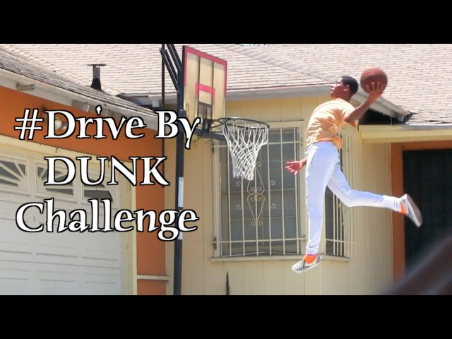 The ORIGINAL DriveByDunkChallenge Dunker @T.Currie Best One Yet!