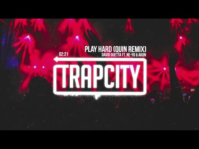 David Guetta ft. Ne-Yo Akon - Play Hard (Quin Remix) [Lyrics]