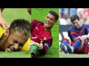 Players Hunting on Neymar, Lionel Messi, Cristiano Ronaldo ● Horror Fouls Tackles |HD (PART 2)
