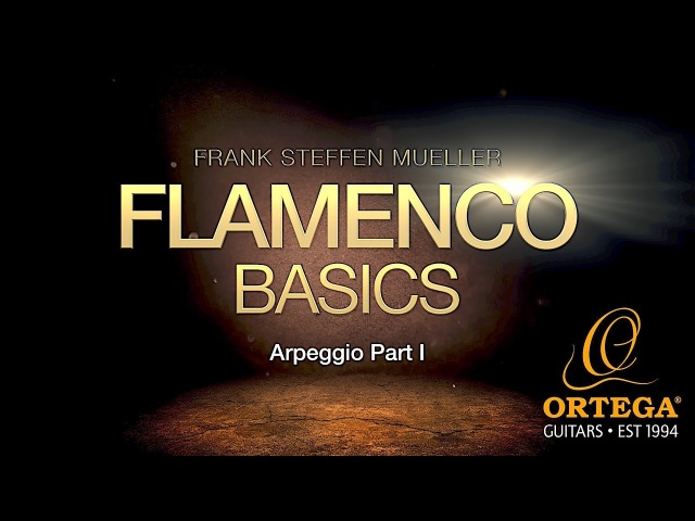 FLAMENCO BASIC LESSONS | Arpeggio (part 1) | Frank Steffen Mueller