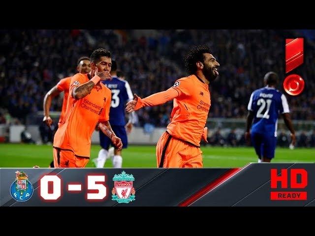 14 02 2018г Порту Ливерпуль 0 5 Обзор первого матча 1 8 Лиги чемпионов смотреть онлайн без регистрации