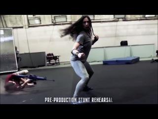 Wonder Woman Rescue [Pre-Production stunt Rehearsal] 'Justice League' Featurette