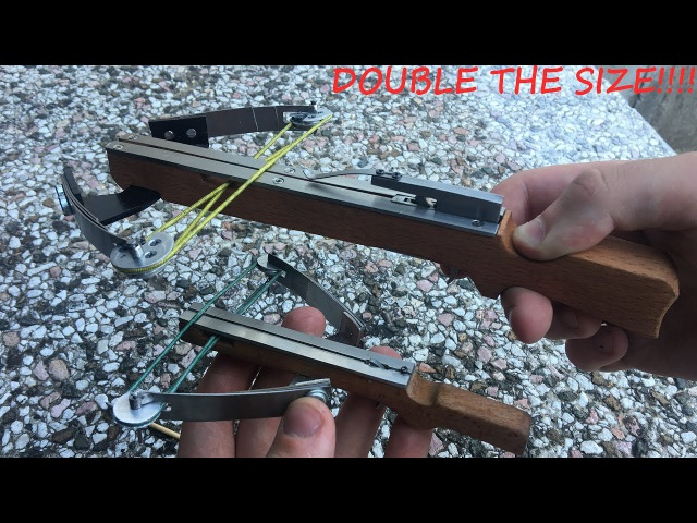Making a Monster Full Compound Mini Crossbow