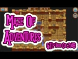 Maze Of Adventures - Uncommon Maze Game with a Story GTP Indie Cup 2018 Gameplay