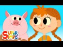 The Farmer In The Dell | Kids Songs | Super Simple Songs