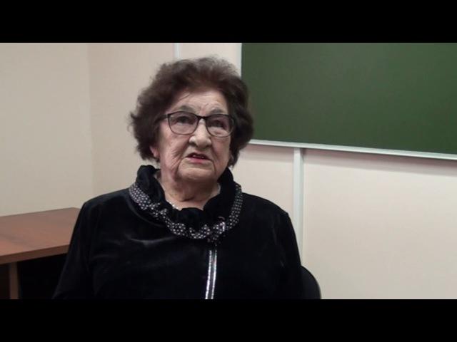 Яковлева Маргарита Васильевна Слава созидателям интервью