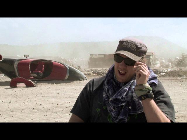 Съёмки Элизиума. Capturing ELYSIUM - 'Mexico City Landfil' - On Blu-ray DVD 12 Dec