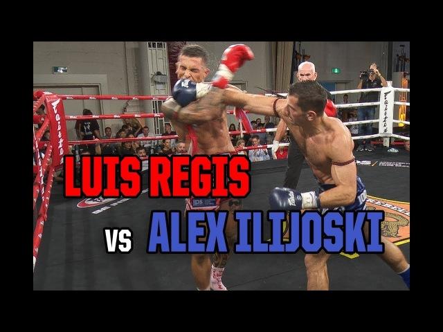 Muay Thai - Luis Regis vs Alex Ilijoski, Rebellion Muay Thai, 3.3.18.
