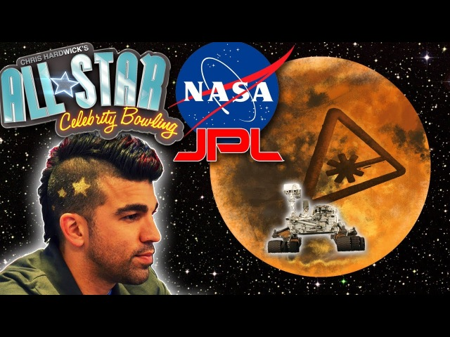 NASA MOHAWK GUY JPL vs. NERDIST - All Star Celebrity Bowling