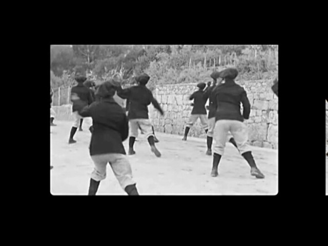 1897 French Martial Art (Savate) 4 Faces Drill (Kata) - Villefranche-sur-Mer France