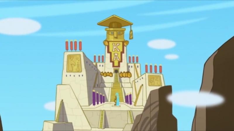 (фрагмент 36) Новая школа императора - Бумага всё стерпит - Новый питомец императора - Сезон 1 Серия 8