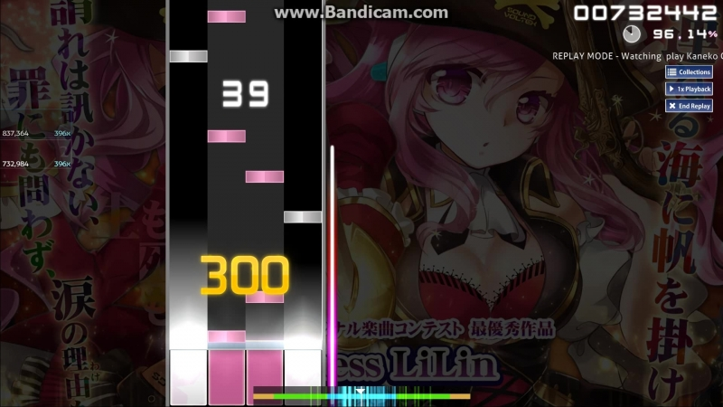 Osu mania Ashenrain Playing SOUND VOLTEX IV HEAVENLY HEAVEN iLLness LiLin ADVANCED