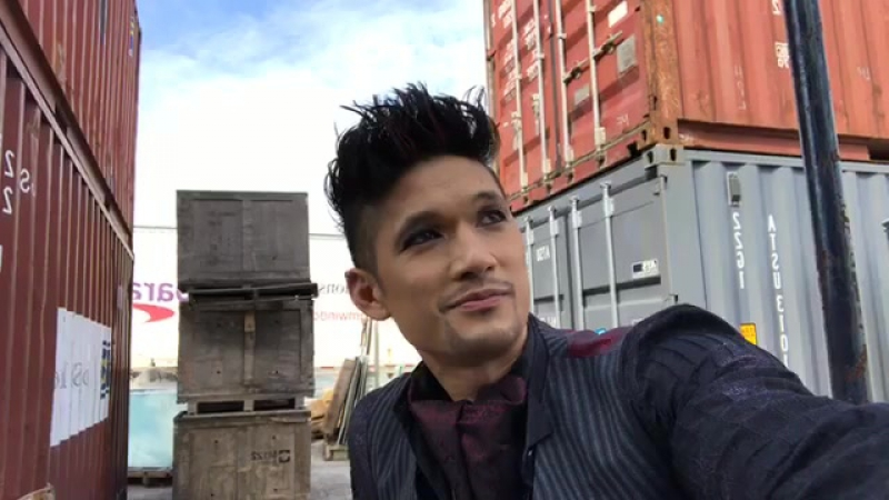 Chat LIVE with Harry Shum Jr now HarryTakeover