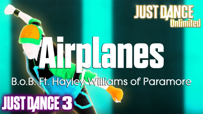 Just Dance Unlimited | Airplanes - B.o.B. Ft. Hayley Williams of Paramore | Just Dance 3 [60FPS]