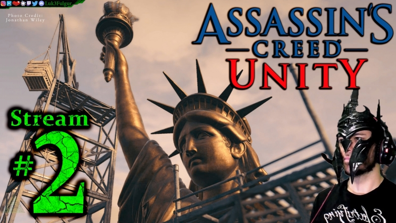 Assassin's Creed Unity 💐🥐1st Time🍷🎨All DLC💸PC💻Max✨2nd Stream🎋