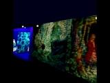 3D-модель светомузыкального шоу на набережной