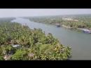 Красоты штата Керала с 16 этажа корпуса ашрама Аммы mp4