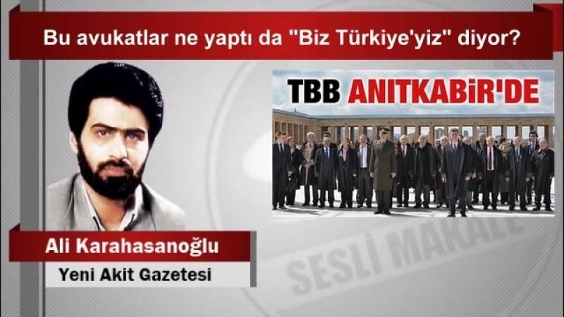 """(7) Ali Karahasanoğlu Bu avukatlar ne yaptı da """"Biz Türkiye'yiz"""" diyor - YouTube"""
