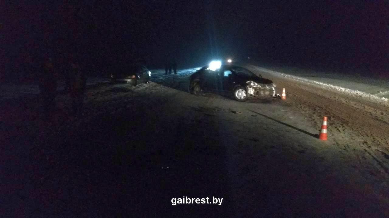 Ляховичский район: в ДТП 2 человека ранены, 1 человек погиб