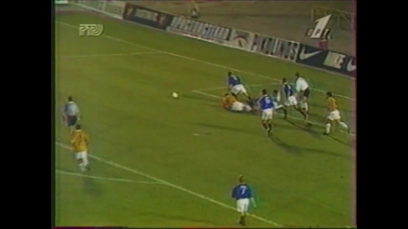 Лига Чемпионов 1996/97. Алания Владикавказ - Рейнджерс (Шотландия) - 2:7 (2:4).