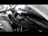 снятие трапеции стеклоочестителя на Мерседес 124. и как добраться до мотора печк