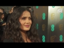 Salma Hayek - BAFTA Awards 2018 Red Carpet Interview