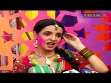 Sanaya Irani at colors holi party