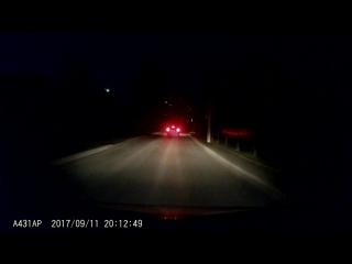 Падение метеорита в Смоленске