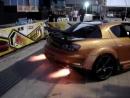 Mazda RX-8 выхлоп